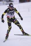 Emilie Vina - cross country sprinter Stock Image