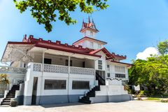 Emilio Aguinaldo Shrine dans Kawit, Cavite, Philippines Image stock