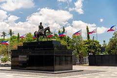 Emilio Aguinaldo Shrine i Kawit, Cavite, Filippinerna Arkivbilder