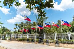 Emilio Aguinaldo Shrine i Kawit, Cavite, Filippinerna royaltyfri foto