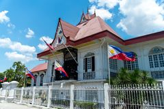 Emilio Aguinaldo Shrine i Kawit, Cavite, Filippinerna arkivfoton