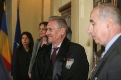 Emilio Constantinescu imagenes de archivo