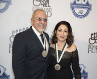 Emilio Estefan and Gloria Estefan Stock Photography