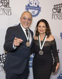 Emilio Estefan and Gloria Estefan Royalty Free Stock Photos