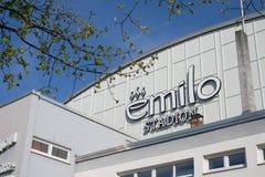 Emilo stadium Rosenheim Royalty Free Stock Images