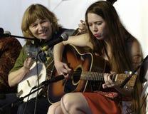 Emily και Martha Spencer στοκ φωτογραφία