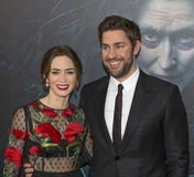 Emily Blunt and John Kasinski Stock Image
