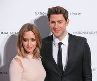 Emily Blunt And John Krasinski Stock Photos