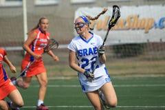 Emily Brodsky - lacrosse Arkivfoto