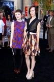 Emily Browning en Jena Malone Royalty-vrije Stock Fotografie
