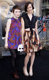 Emily Browning and Jena Malone Stock Image