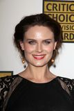 Emily Deschanel at the Second Annual Critics' Choice Television Awards, Beverly Hilton, Beverly Hills, CA 06-18-12 Stock Images