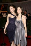 Emily Deschanel,Zooey Deschanel Stock Images