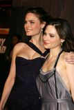 Emily Deschanel,Zooey Deschanel Stock Image
