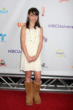 Emily Evan Rae arriving at the NBC TCA Summer 2011 All Star Party Royalty Free Stock Photography