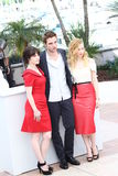 Emily Hampshire, Robert Pattinson, Sarah Gadon Royalty Free Stock Image