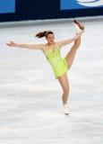 Emily HUGHES dos EUA Imagens de Stock