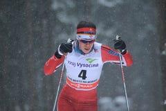 Emily Nishikawa - Cross Country-Skifahren Stockfotografie