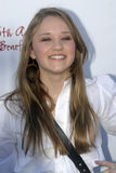 Emily Osment on the red carpet. Royalty Free Stock Photos