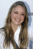 Emily Osment on the red carpet. Royalty Free Stock Photo