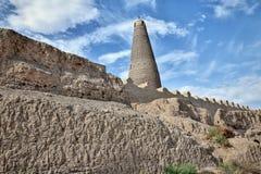 Emin Minaret en Turpan en la región autónoma del Uighur de Xinjiang de China fotografía de archivo
