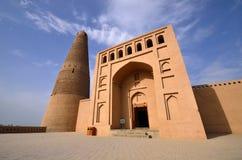 Emin Minaret. In Turpan,China royalty free stock photo