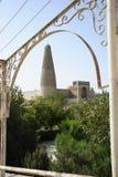 The Emin Minaret. In Turpan, Xinjiang Province, China Royalty Free Stock Photography