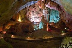 Emine-bair-hosar (Mammuts) Höhle, Krim, Großbritannien Stockfotos