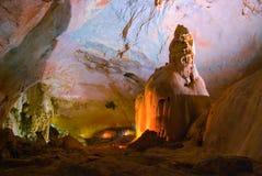 Emine-bair-hosar (Mammuts) Höhle, Krim, Großbritannien Lizenzfreie Stockfotos