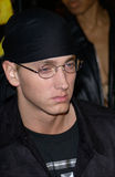 Eminem. Actor/rapper EMINEM at the world premiere of his new movie 8 Mile, in Los Angeles. 06NOV2002.   Paul Smith / Featureflash Royalty Free Stock Images