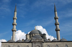 eminonu伊斯坦布尔清真寺 库存照片