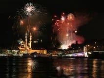 Eminonu,伊斯坦布尔 免版税库存图片