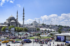 Eminonu Κωνσταντινούπολη Τουρκία Στοκ εικόνα με δικαίωμα ελεύθερης χρήσης