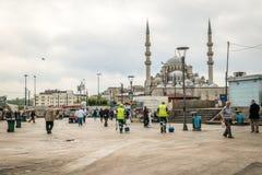 Eminonu στη Ιστανμπούλ, Τουρκία Στοκ Φωτογραφίες