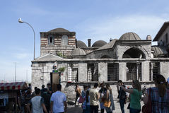 Eminonu, Costantinopoli Fotografia Stock