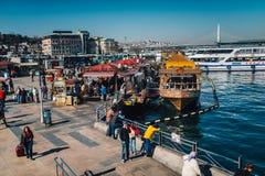 Eminonu, Estambul fotografía de archivo