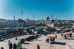 Eminonu, Estambul imagenes de archivo