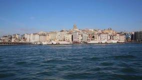 Eminonu-Hafen, Istanbul, die Türkei stock video footage