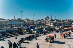 Eminonu, Istanbul Stock Images