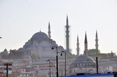 Eminonu Mosque. Historical Mosque in Eminonu Istanbul Stock Photo