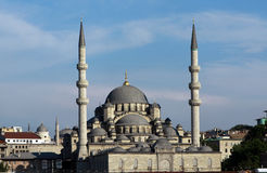 Eminonu Mosque in istanbul. Royalty Free Stock Image