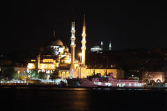Eminonu New Mosque Royalty Free Stock Photography