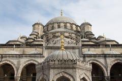 Eminonu New Mosque Stock Photo