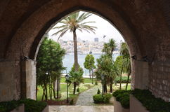 From eminonu sirkeci. From old turkish prison Stock Photography