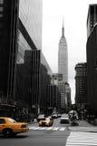 Emipre e colore giallo, Manhattan, Fotografie Stock