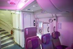 Emiräte Airbus A380 Stockbilder