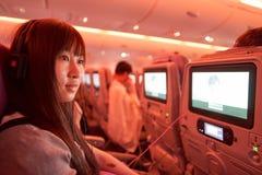 Emiräte Airbus A380 Stockfotografie