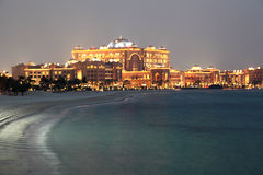 Emiräte Palast, Abu Dhabi Lizenzfreies Stockbild