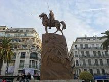 Emir Abdelkader o Abdelkader El Djezairi era uno Sharif algerino religioso e leader militare che Fotografia Stock Libera da Diritti