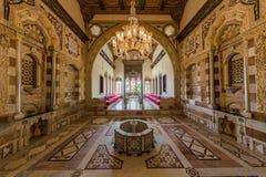 Emir Bachir Chahabi Palace Beit e-n-dineert Libanon royalty-vrije stock afbeeldingen